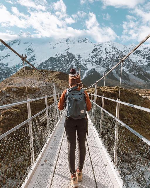 Traveling in New Zealand, Hooker Valey Track, cara traveling ke new zealand, Negara wajib dikunjungi, traveling ke luar negri kemana?, new zealand, rekomendasi traveling ke luar negri, negara yang wajib dikunjungi,