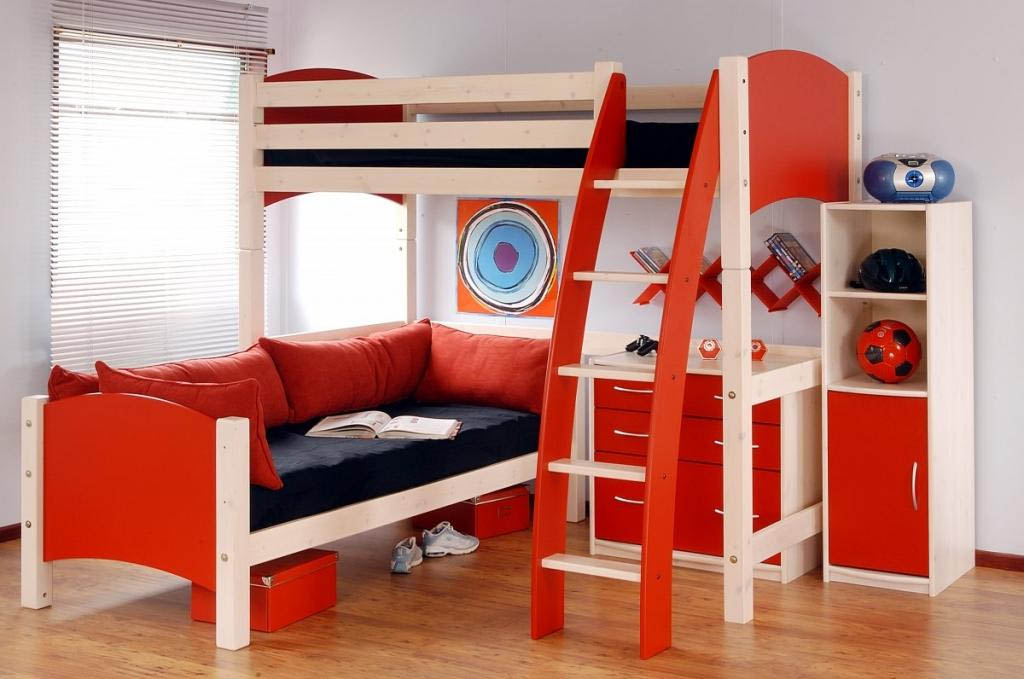 L Shaped Desk With Hutch L Shaped Bunk Beds