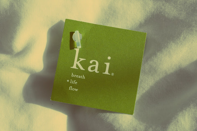 Kai perfume sample from Glossybox April Edition