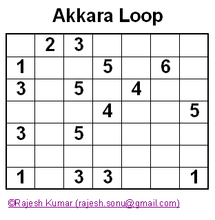 Logical Puzzles: Akkara Loop