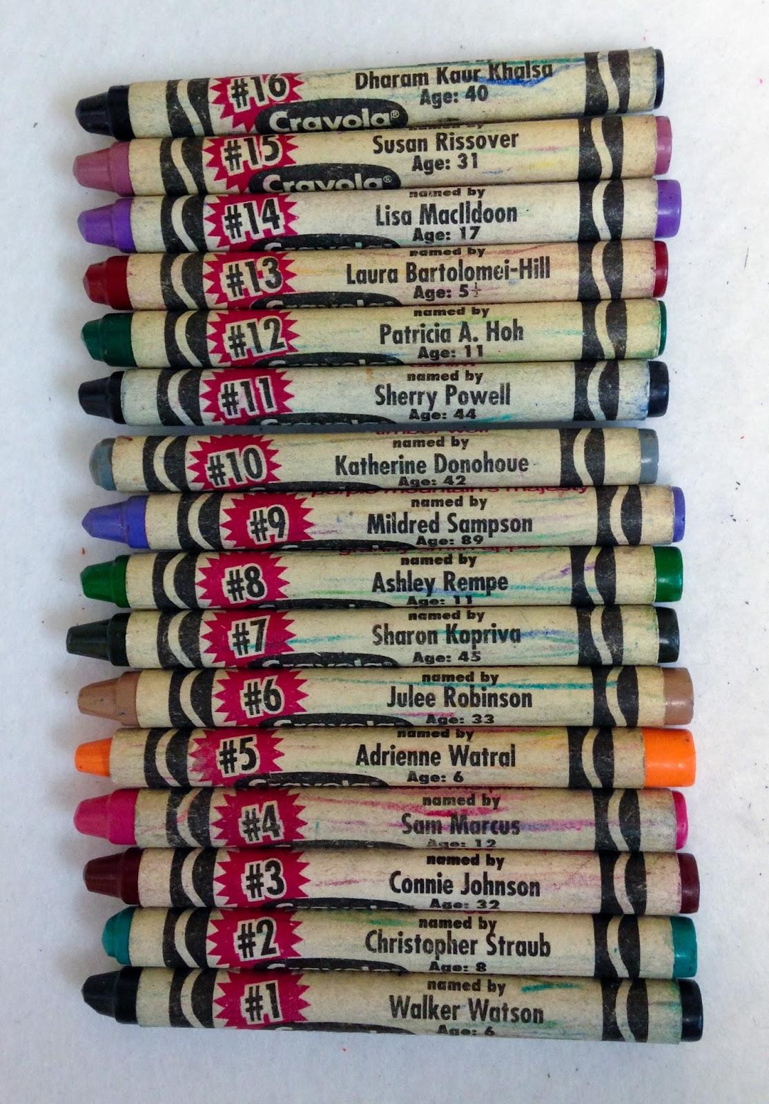 Purple Crayola Crayon 96 Count Crayola Limit...
