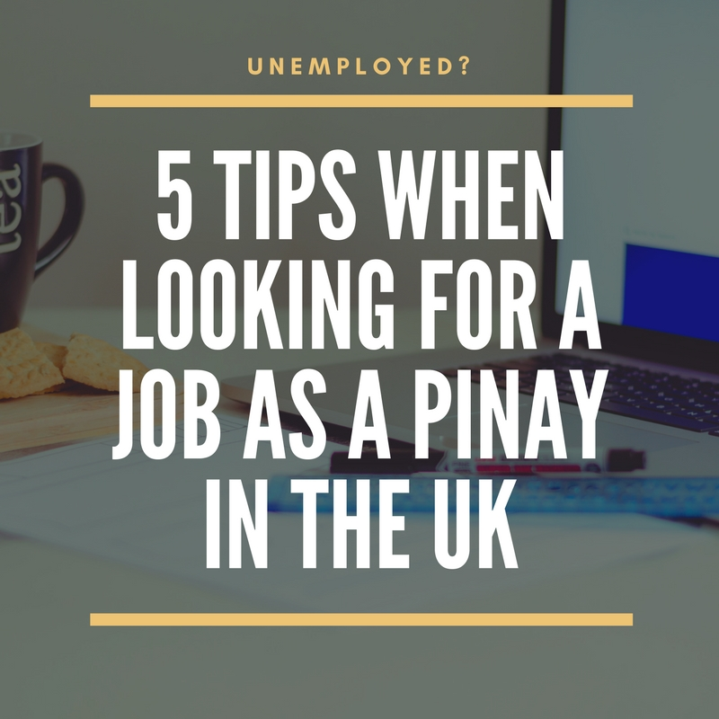 5 Tips When Looking for a Job as a Pinay in the UK