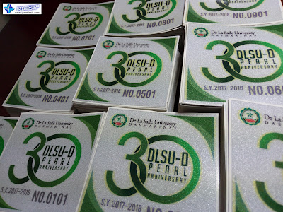 3M Reflective Stickers -De La Salle University Dasmarinas