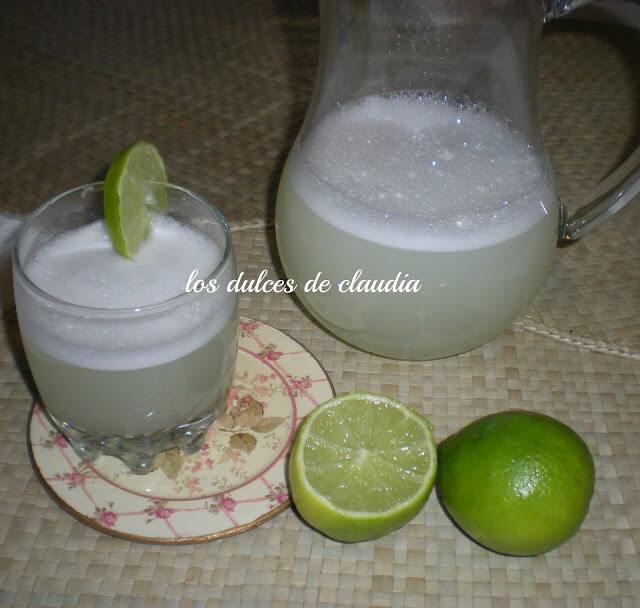 limonada con cascara