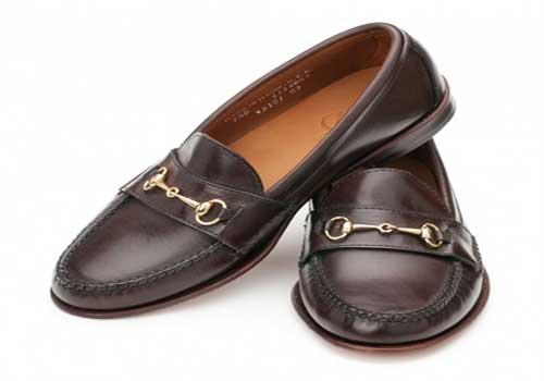 Model sepatu pantofel horsebit loafers