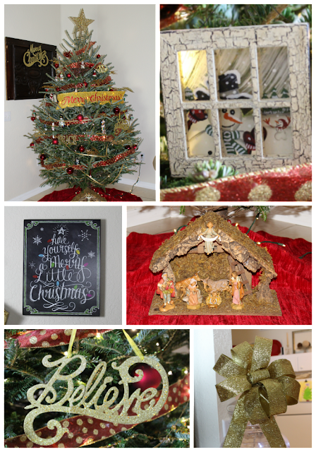 Real Christmas tree/ DIY180/ Ornaments/