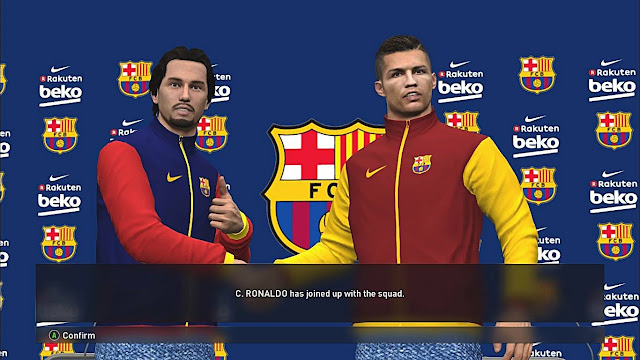 PES 2017 FC Barcelona Jackets & Press Conference Room By Akmal20