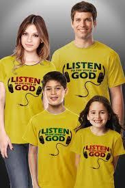Model Baju Kaos Keluarga Plus Anak Terbaru