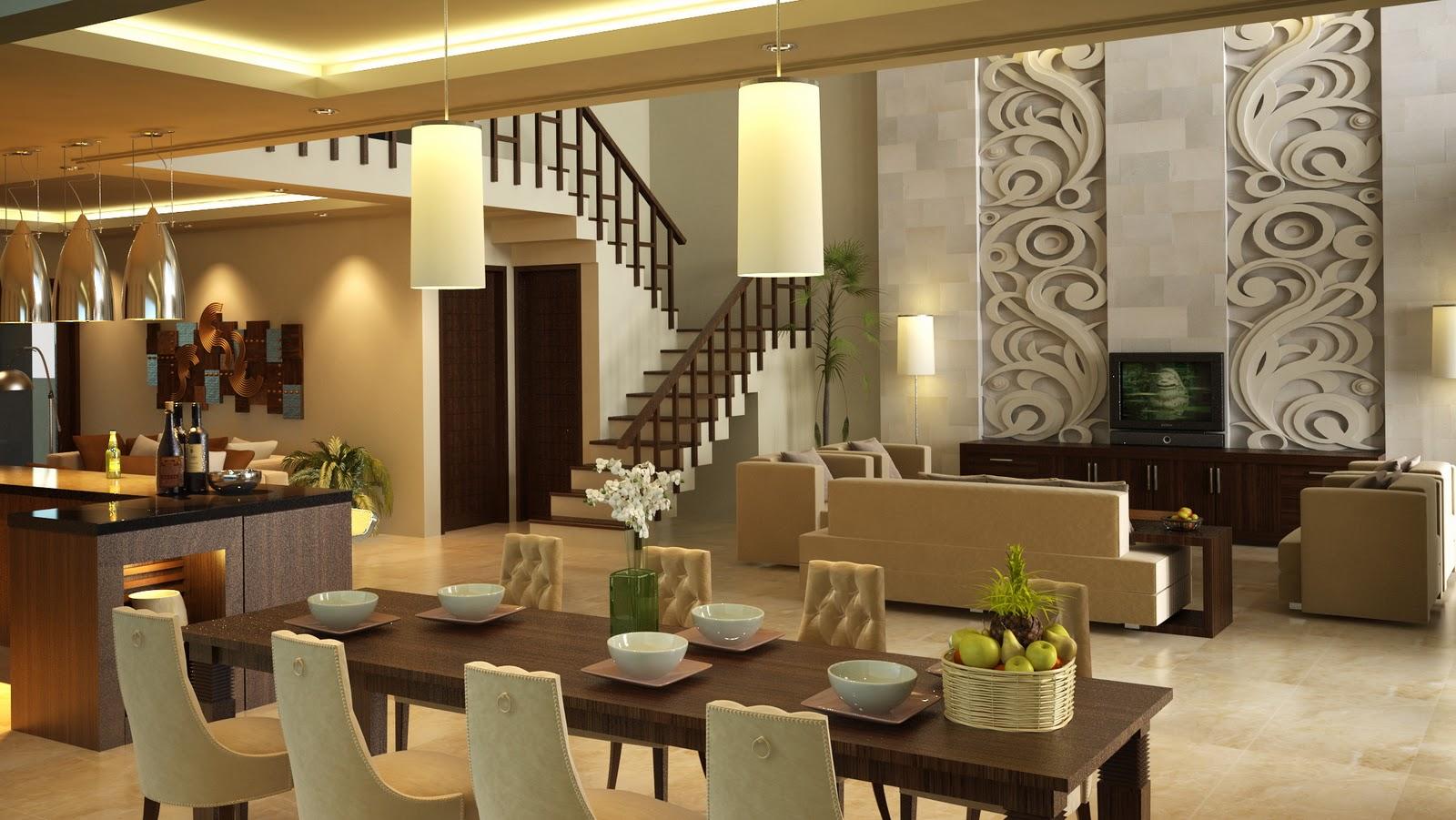 Gambar Desain Rumah: Desain Interior Rumah Emporio Architect