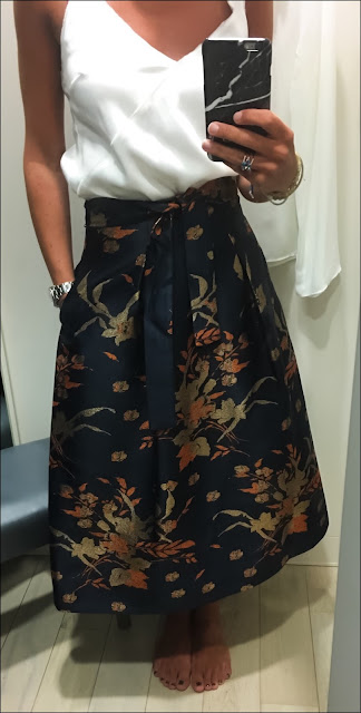 My Midlife Fashion, Marks and Spencer Limited Edition A Line Skirt