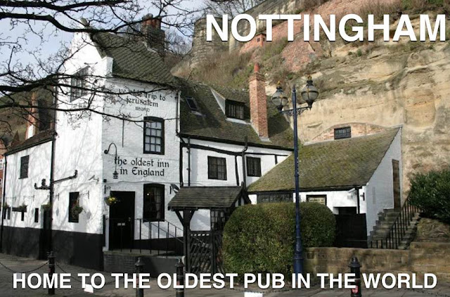 Picture of the oldest pub in the world