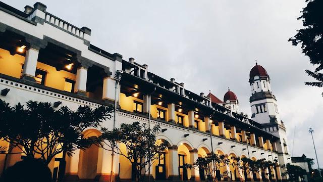 foto lawang sewu jateng