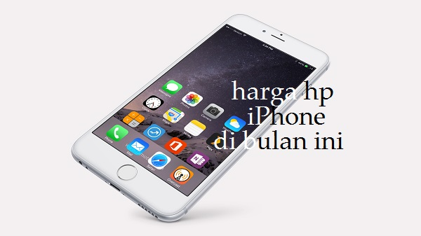 Harga Hp iPhone