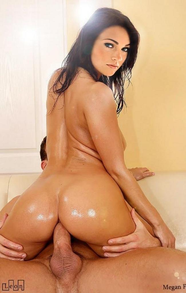 Megan Fox Riding Cock Fucked in Ass