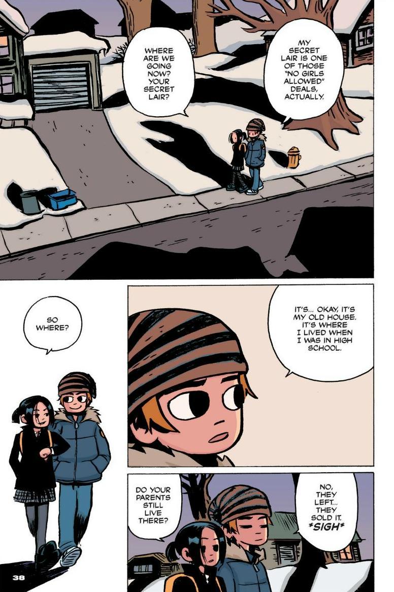 Read online Scott Pilgrim comic -  Issue #1 - 32