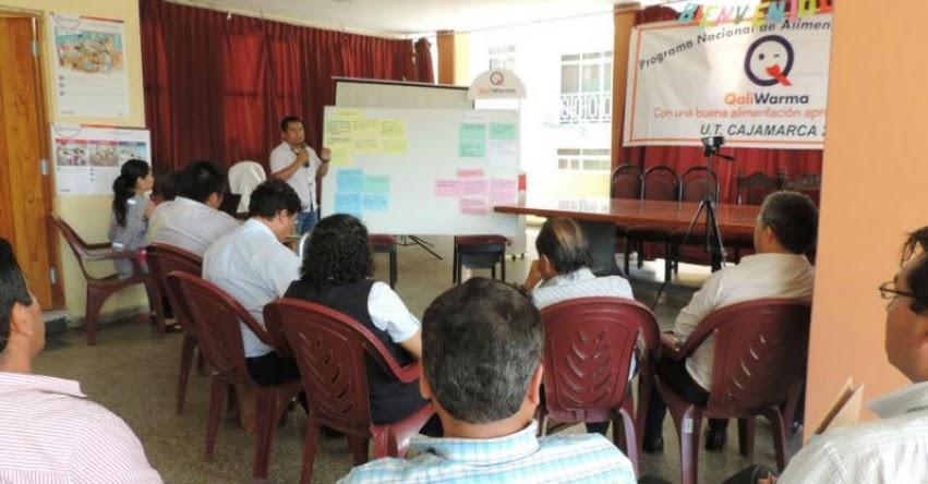 QALI WARMA: Capacitan en Cajamarca a directores y especialistas de UGEL - www.qaliwarma.gob.pe