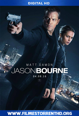 Baixar Jason Bourne – Torrent Web-DL 720p Legendado (2016)