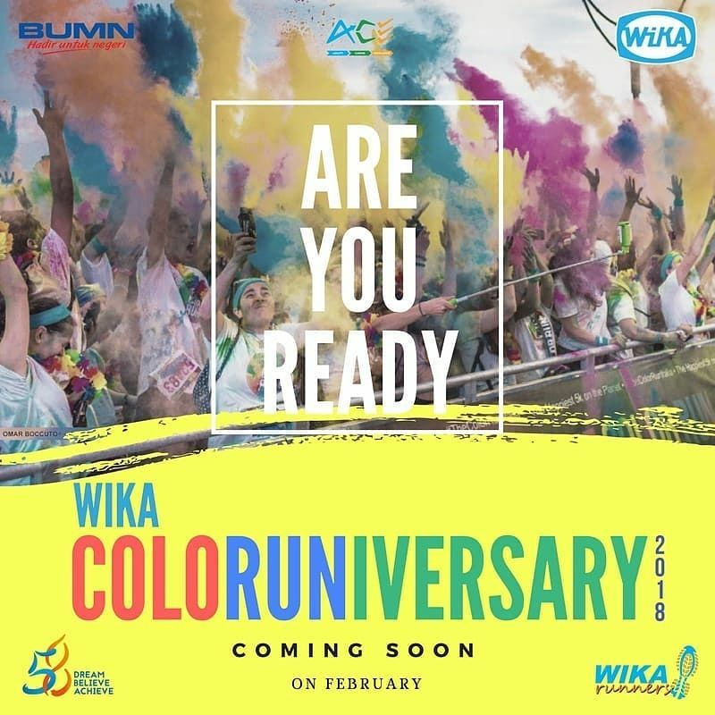 WIKA ColoRuniversary and Fun Bike • 2018