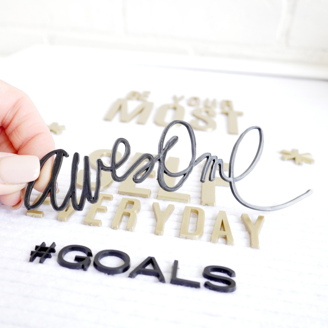 New Heidi Swapp Letterboard and Positive Images by Jamie Pate  |  @jamiepate for @heidiswapp