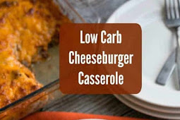 LOW CARB BACON CHEESEBURGER CASSEROLE – KETO FRIENDLY