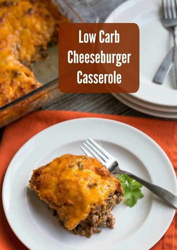 LOW CARB BACON CHEESEBURGER CASSEROLE – KETO FRIENDLY