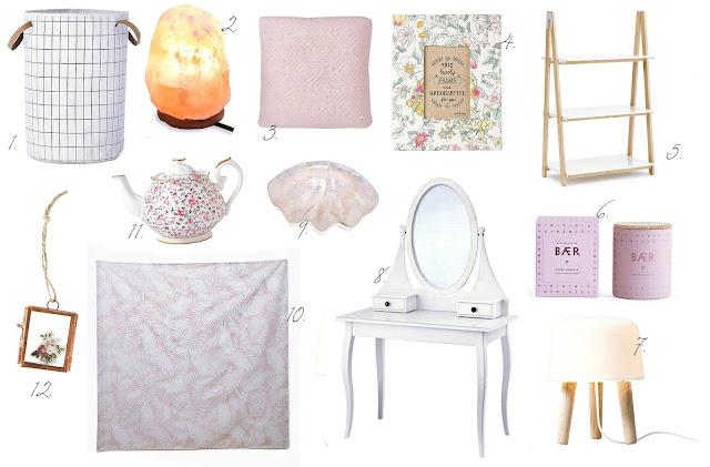 Summer decor blog wish list