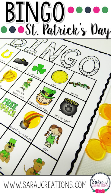 St. Patrick's Day bingo is an ideal game for parties and classrooms in March
