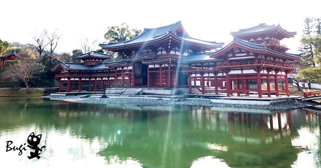 宇治必訪/近千年世界遺產「平等院」 倒映在水上的零死角對稱建築