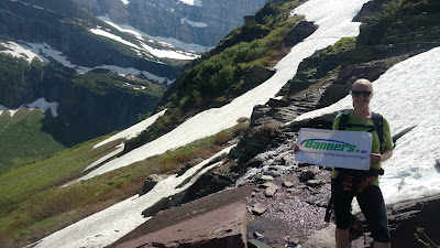 Backpacking with Banners - Attempting to get to Grinnell Glacier