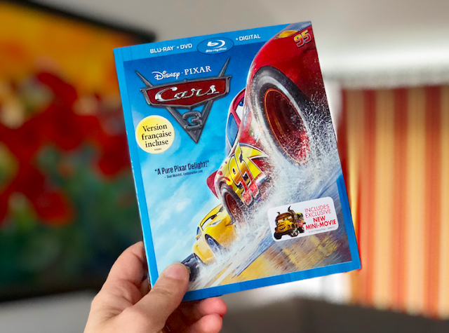 Disney Pixar's Cars 3 - Blu-ray + DVD + Digital
