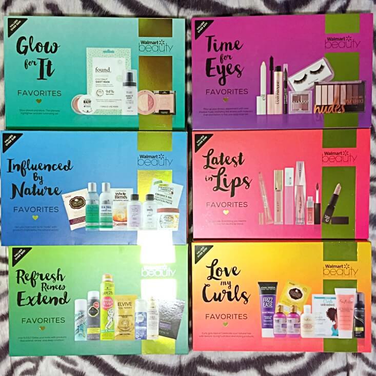 Walmart Beauty Favorites Boxes