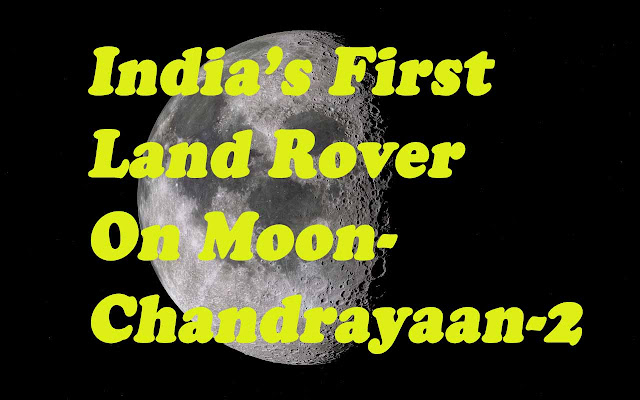 Indian On Moon Chandrayaan-2