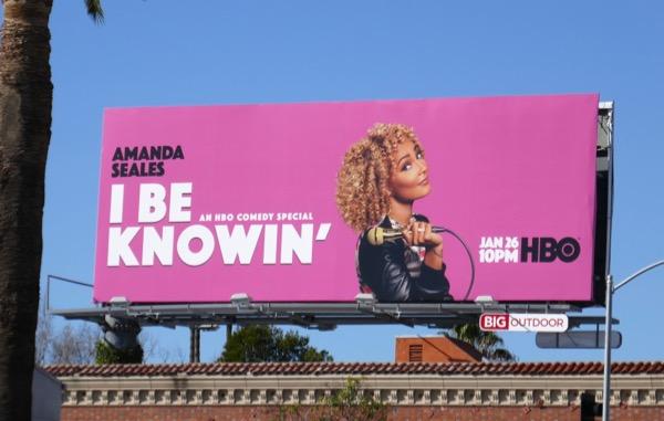 Amanda Seales I Be Knowin billboard