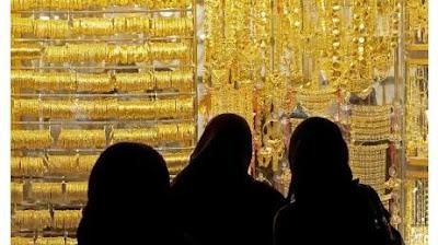 تواصل صدمات المقبلين على الشراء بارتفاع جنونى فى اسعار الذهب السعودى
