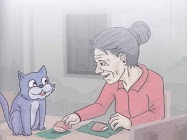 kisah nenek tua dan kucing ajaib