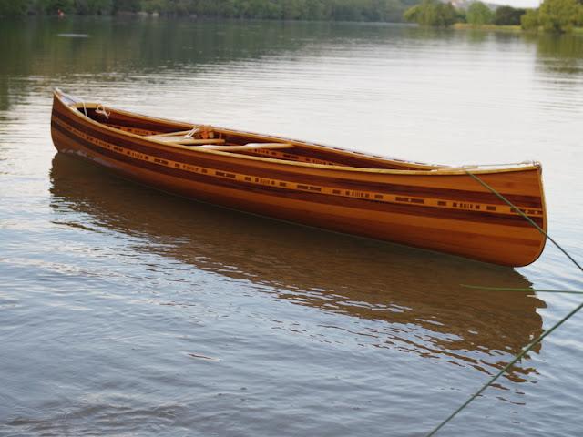 Cedar Strip Canoe Build