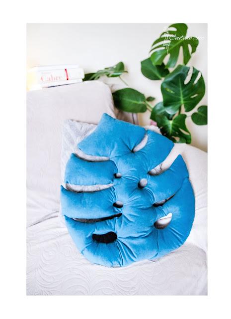poduszka w kształcie monstery