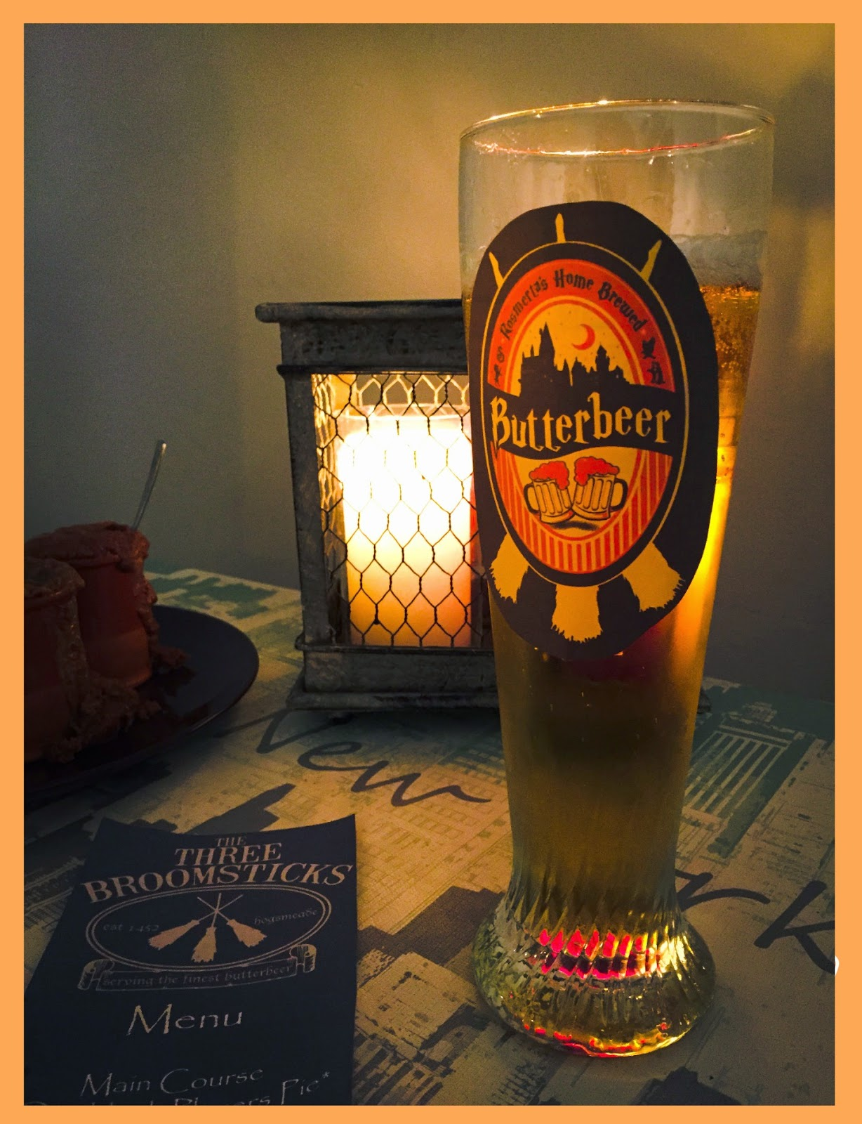 Butterbeer - Harry Potter inspired food - Harry Potter Party
