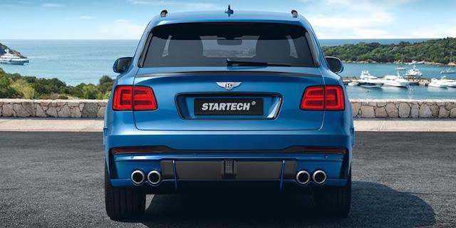 ブラバス・スターテックが「ベントレー・ベンテイガ」のカスタム仕様を発表。