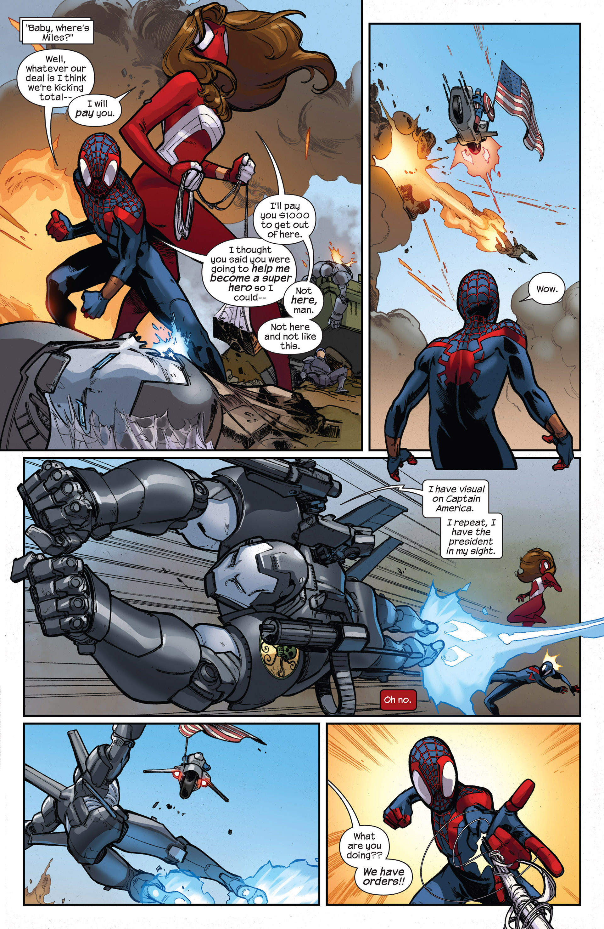 Read online Ultimate Comics Spider-Man (2011) comic -  Issue #17 - 19
