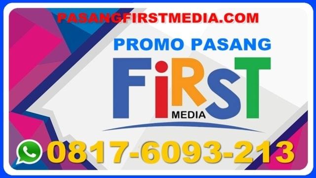 PASANG FIRST MEDIA MURAH