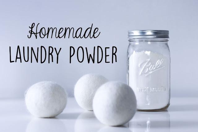 Zero Waste Nerd Homemade Laundry Powder
