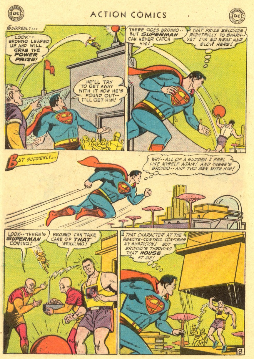 Action Comics (1938) 220 Page 9