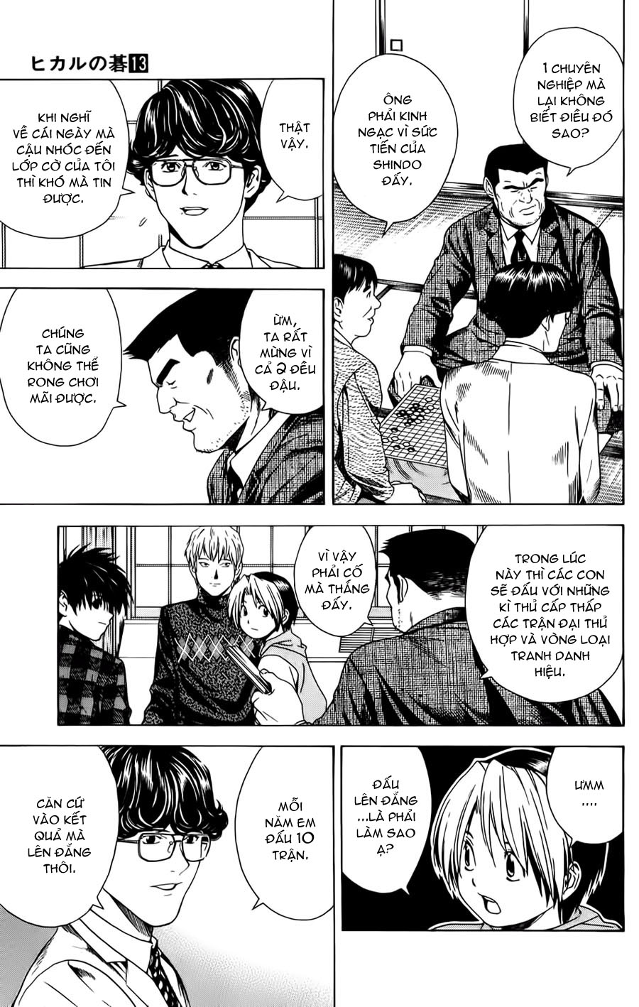 Hikaru No Go hikaru no go chap 105 trang 4