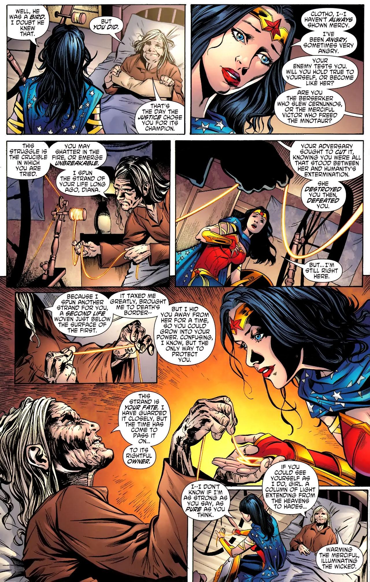 Read online Wonder Woman (2006) comic -  Issue #610 - 11