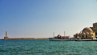 Chania Kreta, Latarnia morska i Meczet Janczarów
