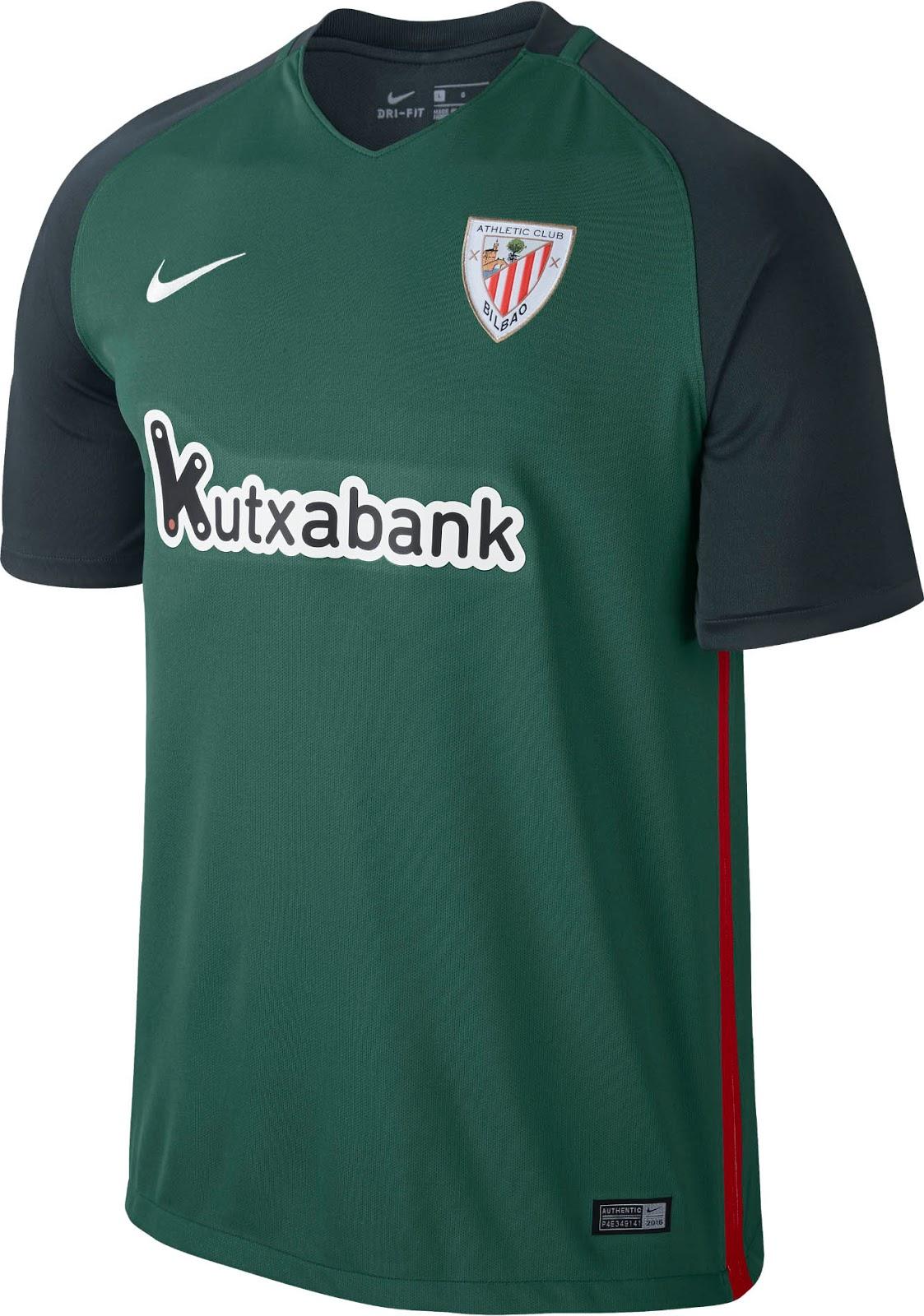 Athletic Bilbao 16-17 Away Kit Released - Footy Headlines