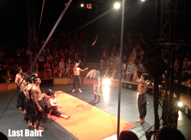 performers at the phare Cambodian circus in Siem, Reap