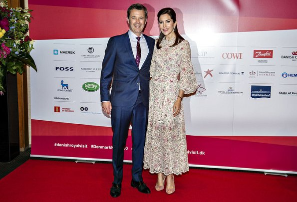 Crown Princess Mary wore a new lace eyelet dress by Zimmermann. Crown Princess Mary wore Zimmermann floral eyelet dress