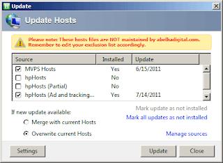 Using Hostsman for Host Redirection